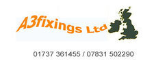 A3fixings Ltd Engineering consumables and structural construction fixings
